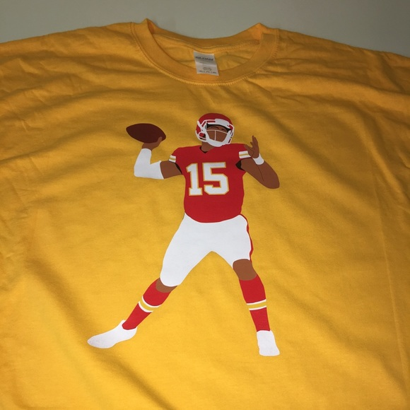 innovative design 3a535 48197 Kansas City Chiefs Patrick Mahomes Shirt NWT